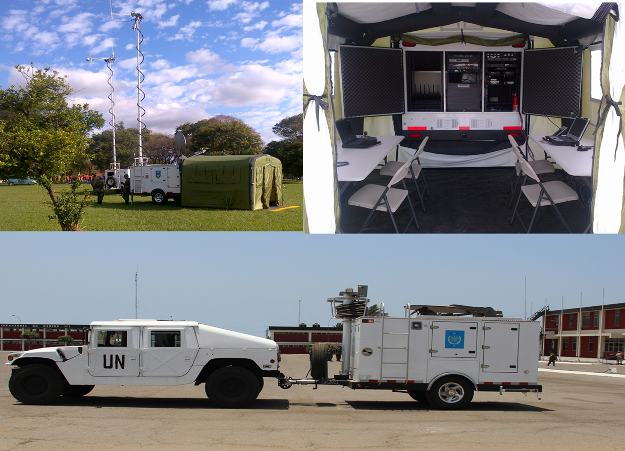 Mobile Emergency Operations Center : Mobile emergency operations centers merc chilcott inc
